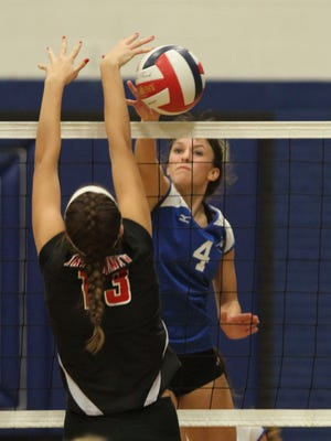 Assumption senior Autumn Linzmeier and her teammates take on Newman Catholic in the Division 4 sectional semifinals Thursday at Greenwood.