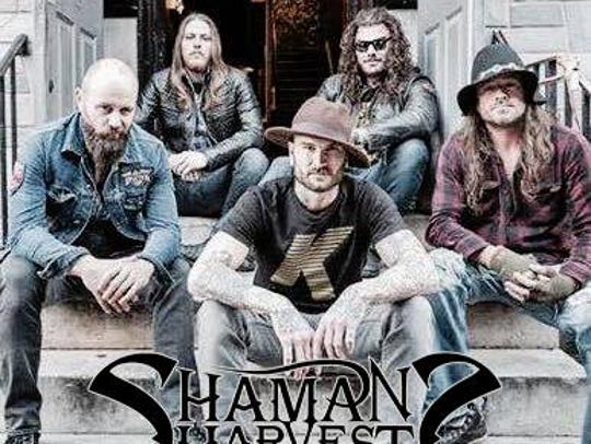 Shaman's Harvest will perform on June 11, 2016 at Live