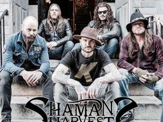 Shaman's Harvest will perform on June 11, 2016 at Live on Main in Stevens Point.