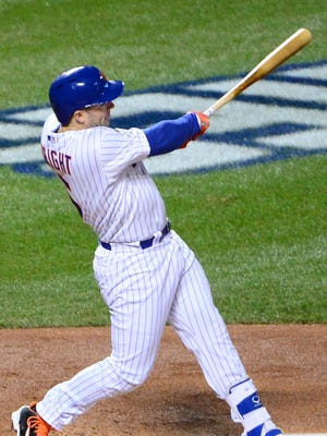 David Wright drove iin four runs for the Mets.