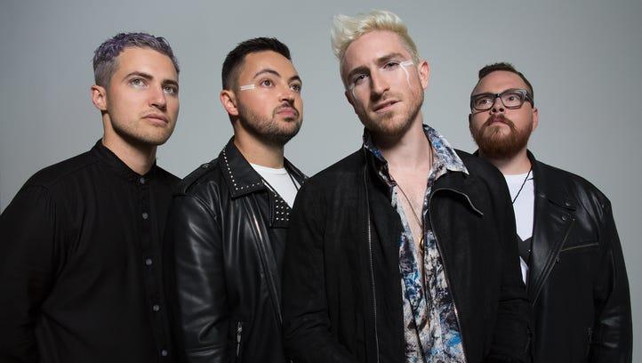 Cincinnati pop-rock band Walk the Moon
