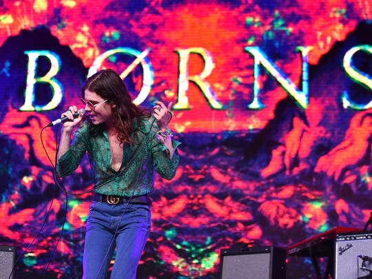 BØRNS performs onstage during day 1 of the 2016 Coachella Valley Music & Arts Festival Weekend 1 in Indio, California.