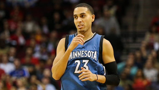 Kevin Martin has averaged 17.6 points a game for his career.
