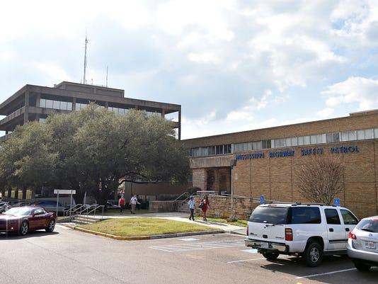 Mississippi Highway Patrol headquarters in Jackson