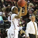 Mississippi State freshman Victoria Vivians earned a spot on the SEC's second team.