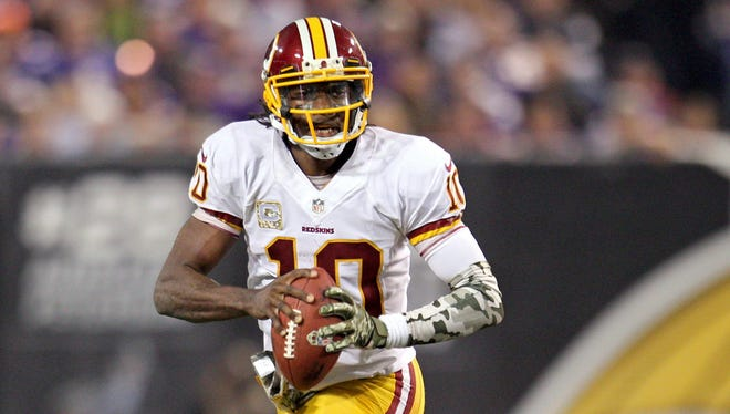 Robert Griffin III and the Redskins need to hit their stride in Philadelphia.