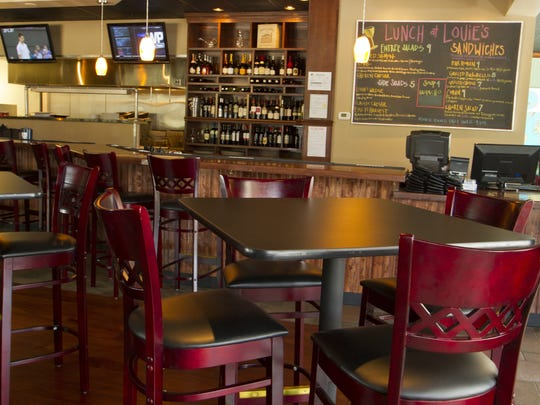 Louie's Wine Dive, featured here in Des Moines, is