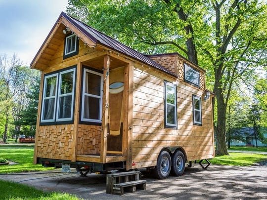 """Try It Tiny's Tiny Pint House will be at the Indy 500 in a tiny house """"boutique hotel."""""""