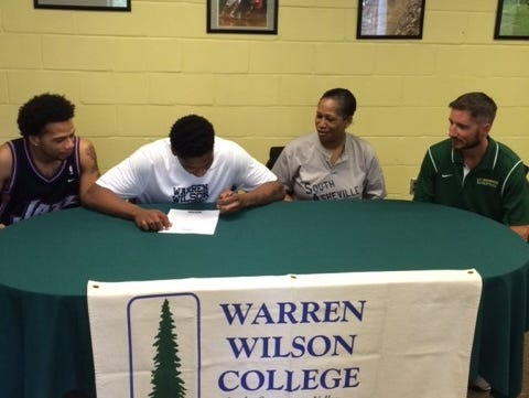 Reynolds senior Jaquann Lockhart has signed to play college basketball for Warren Wilson.