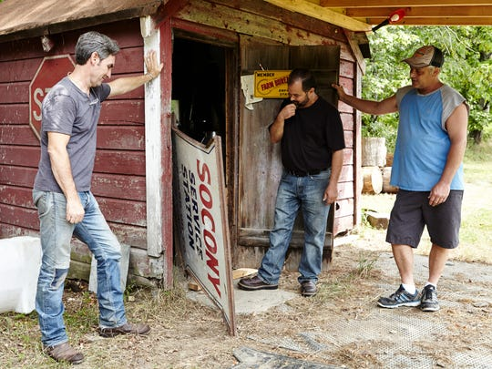 """Mike Wolfe and Frank Fritz from the hit show """"American Pickers"""" are returning to Virginia this spring and hope to make another stop in the Shenandoah Valley. Wolfe and Fritz are looking for local collectors to visit in the region."""
