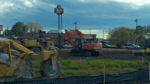 Krystal Burger is building a new location in Breaux Bridge.