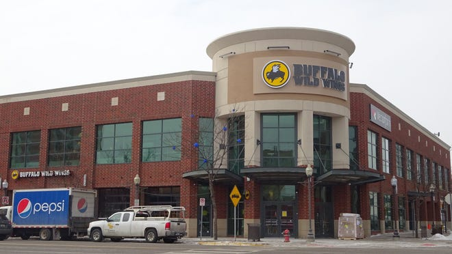 A new Buffalo Wild Wings will open Monday, March 2, 2015, in the former Barnes & Noble bookstore in Royal Oak at 500 S. Main.