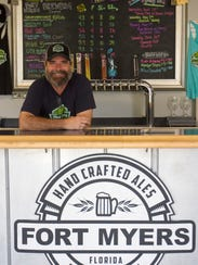 Rob Whyte owns Fort Myers Brewing Co. with his wife,