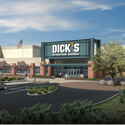 An artist's rendering of the Dick's Sporting Goods Distribution Center.