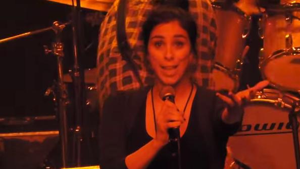 Sarah Silverman sings!