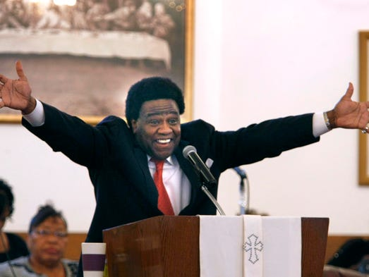 September 17, 2014 - Al Green sings and prays with