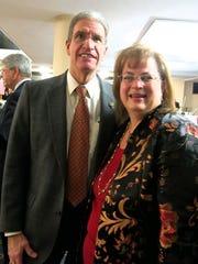 Alan and Jennifer Beason at Little Theatre Gala.