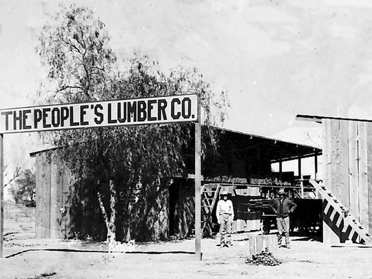 People's Lumber Company was owned by William Weigold,