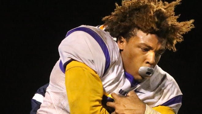 Smyrna's Casey Perkins ran for over 1,400 yards in 2015.