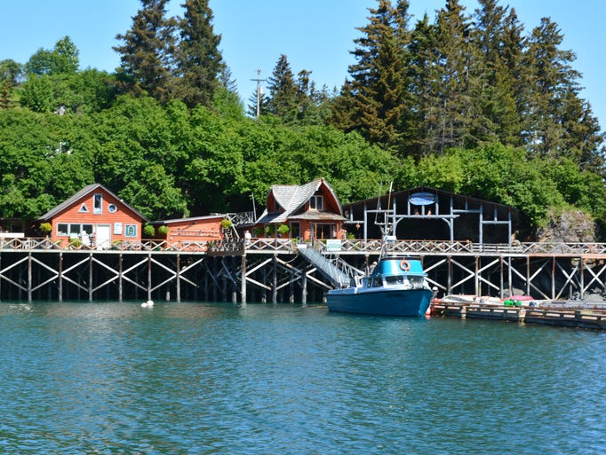 Find The Saltry Restaurant on Alaska's Halibut Cove