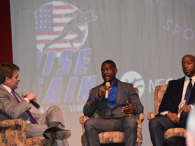 "Justin Gatlin discuses his documentary ""Rise Again"""