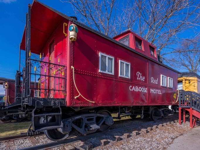 The Red Caboose Motel Ronks Pa