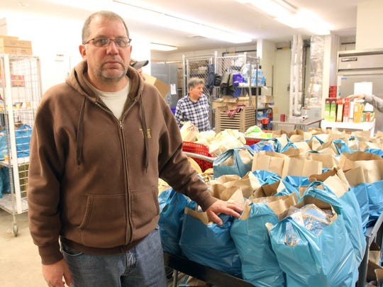 Frank Hasner is the director of the Franklin Food Bank in Somerset.