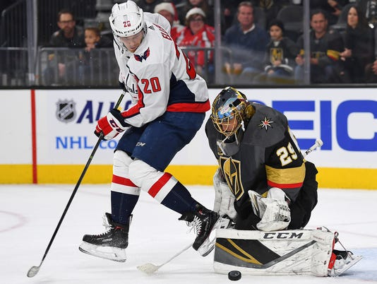 NHL: Washington Capitals at Vegas Golden Knights