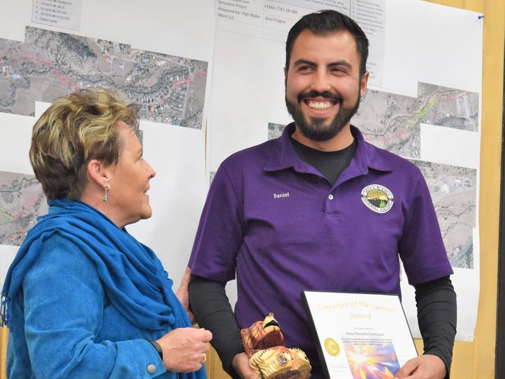 The Community Service Employee of the Quarter Award