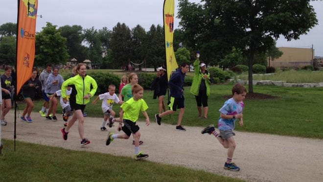 The second-to-last 5k of the Treatment Trail took place at Sunset Park in Sturgeon Bay at 8 a.m. Sunday. A second 5k was held in Sister Bay that afternoon. More than 20 people showed up in Sturgeon Bay to run, bike and/or walk the race.