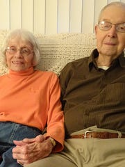Wilma and Dwight Priode met at their church youth group