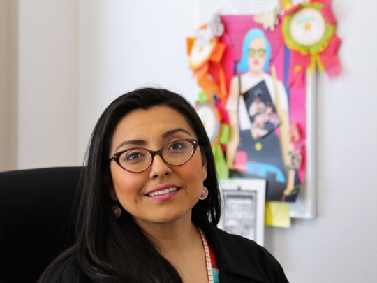 As executive director of Walker's Point Center for the Arts, Marcela Garcia now leads the center where she attended programs as a girl.
