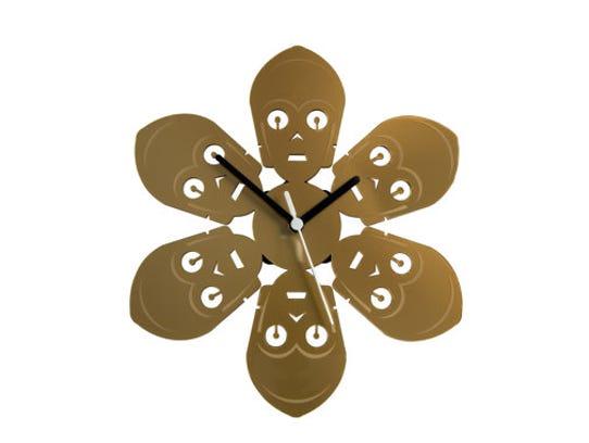Wall clock, $38.87.