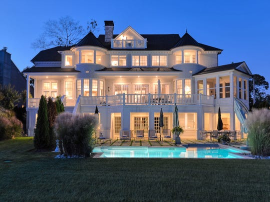 Step inside a 3 5m 39 wonderland 39 for Jersey shore waterfront homes for sale