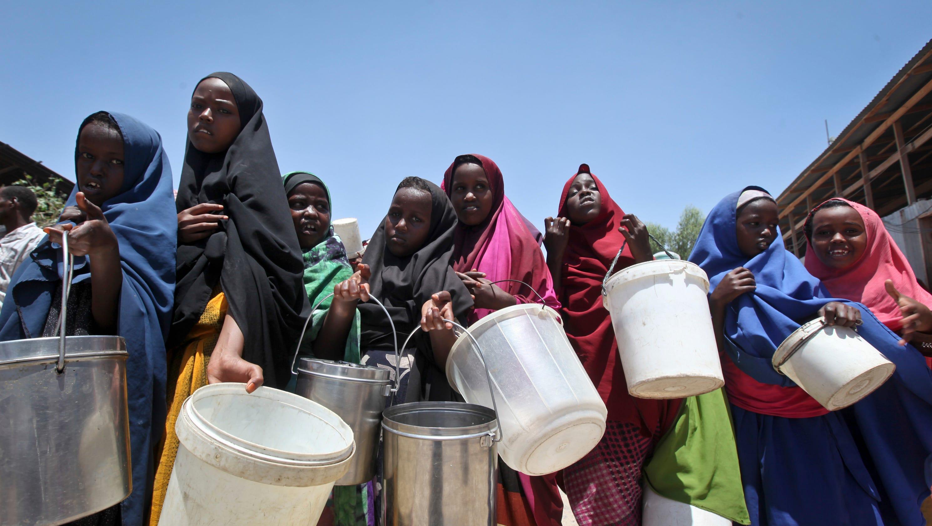 Drought in Somalia Raises Death Toll Over 100