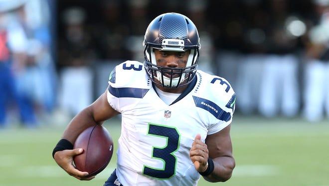 Seahawks quarterback Russell Wilson