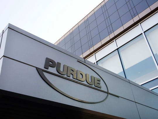This 2007 file photo shows the Purdue Pharma offices