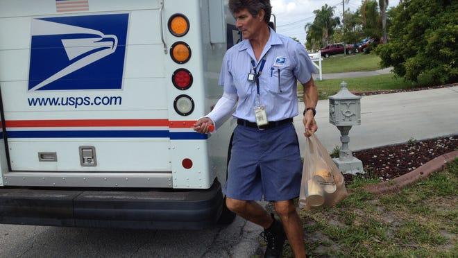 Postal workers will collect nonperishable food items in Stamp Out Hunger, which will go to local food banks.