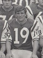 "Wilmer ""Skip"" Morgan was a split end for Northwestern"