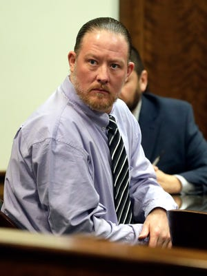 Trial for George Burch, who is accused of murdering Nicole VanderHeyden in May 2016, began Monday, Feb. 19, 2018 in Brown County Circuit Court. Sarah Kloepping/USA TODAY NETWORK-Wisconsin