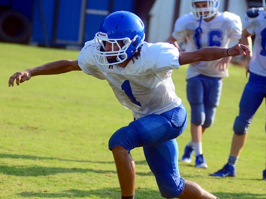 Connor Holder is one of eight White House High seniors who will be suiting up for the Blue Devils in 2016.