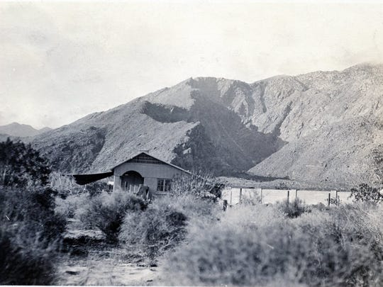 Fool's Folly 366 S. Palm Canyon Drive, circa 1923.