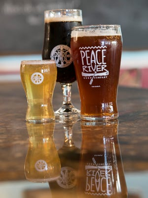 Peace River Beer Company in Punta Gorda has several different types of beer. Many will be lower in alcohol than their sister brewery, Bury Me Brewing, and the brewery will be more family friendly.