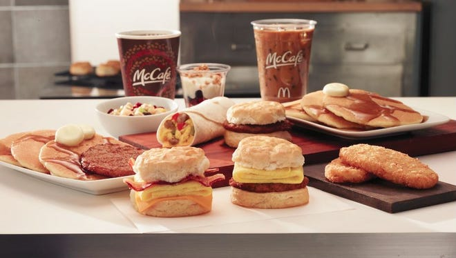 McDonald's will expand testing on an all-day menu to Mississippi and Nashville in the coming weeks.