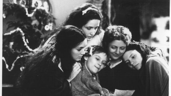 "Winona Ryder (clockwise from left), Trini Alvardo, Susan Sarandon, Claire Danes and Kirsten Dunst star in ""Little Women."""