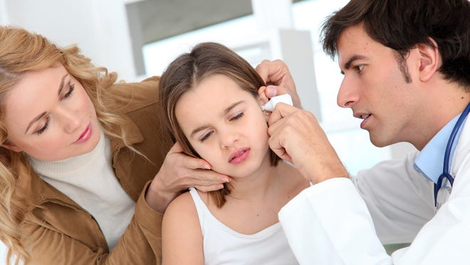 Ear infections rarely cause harm and are easily treated with antibiotics.