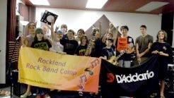 Summer 2014 Rock Band Camp participants.