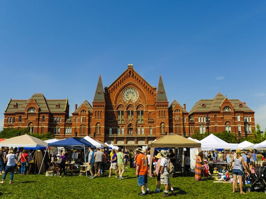 Monthly urban flea market The City Flea returns to Washington Park in Over-the-Rhine Saturday.