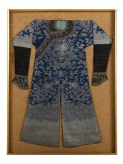 Dr. Henry Heimlich passed away in December. Items from his estate are up for sale with Everything But The House, a Cincinnati-based auction company. Pictured is Heimlich's Dragon Court Robe.