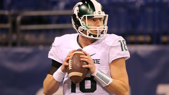 Michigan State's Connor Cook is 34-4 as a starter.